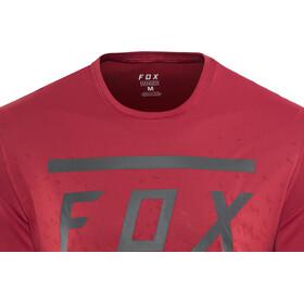 Fox Ranger Bars SS Jersey Men cardinal